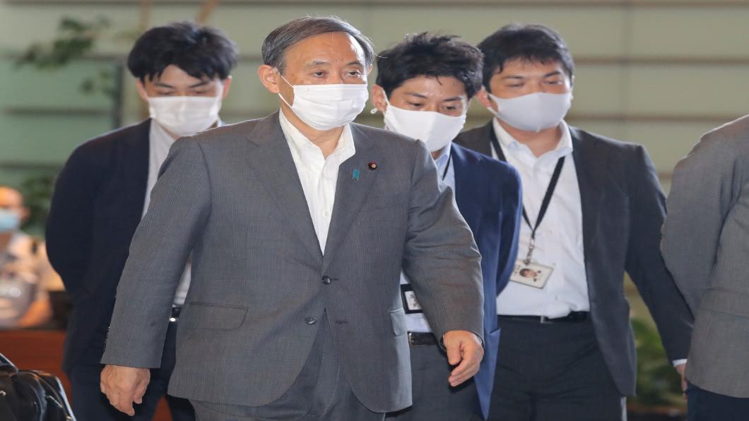 圖/達志影像美聯社 日本首相大黑馬 71歲「令和大叔」菅義偉呼聲高