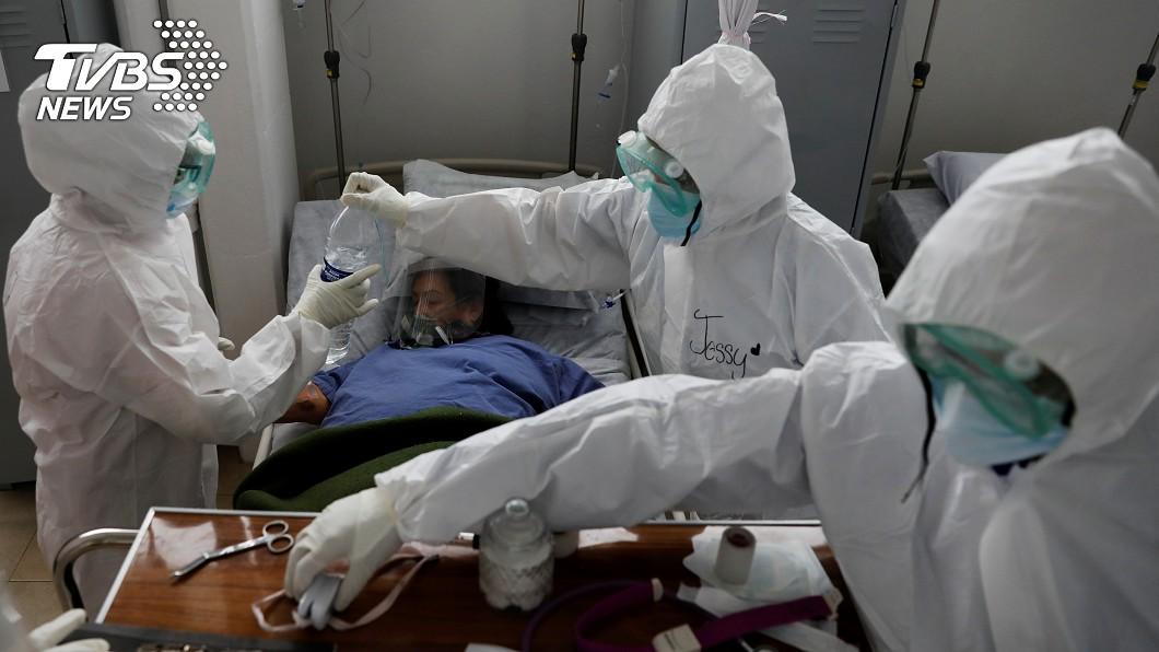 國際特赦組織指全球逾7000名醫護染疫亡。(圖/達志影像路透社) 全球逾7千醫護染疫病故 國際特赦:實際數據恐更高