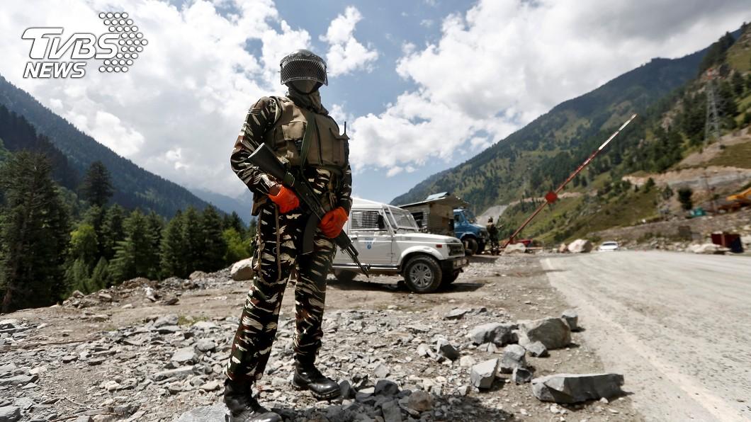 中印邊境衝突。(圖/達志影像路透社) 共軍中印邊境受挫後 兩國防長將會面