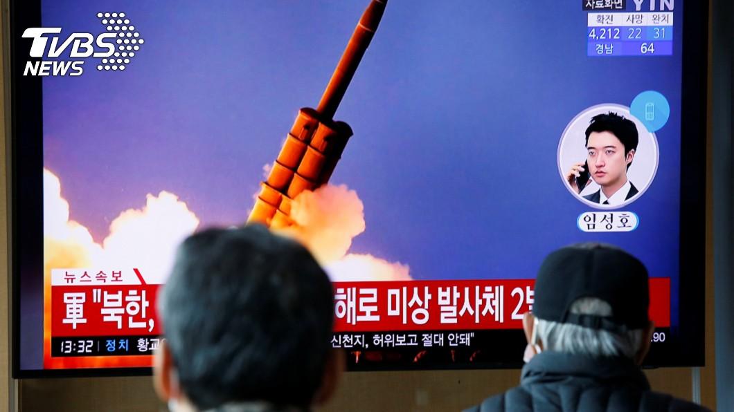 美國智庫報告指出,北韓疑似在為飛彈試射進行準備工作。(圖/達志影像路透社) 美智庫影像:北韓疑準備潛射彈道飛彈試射