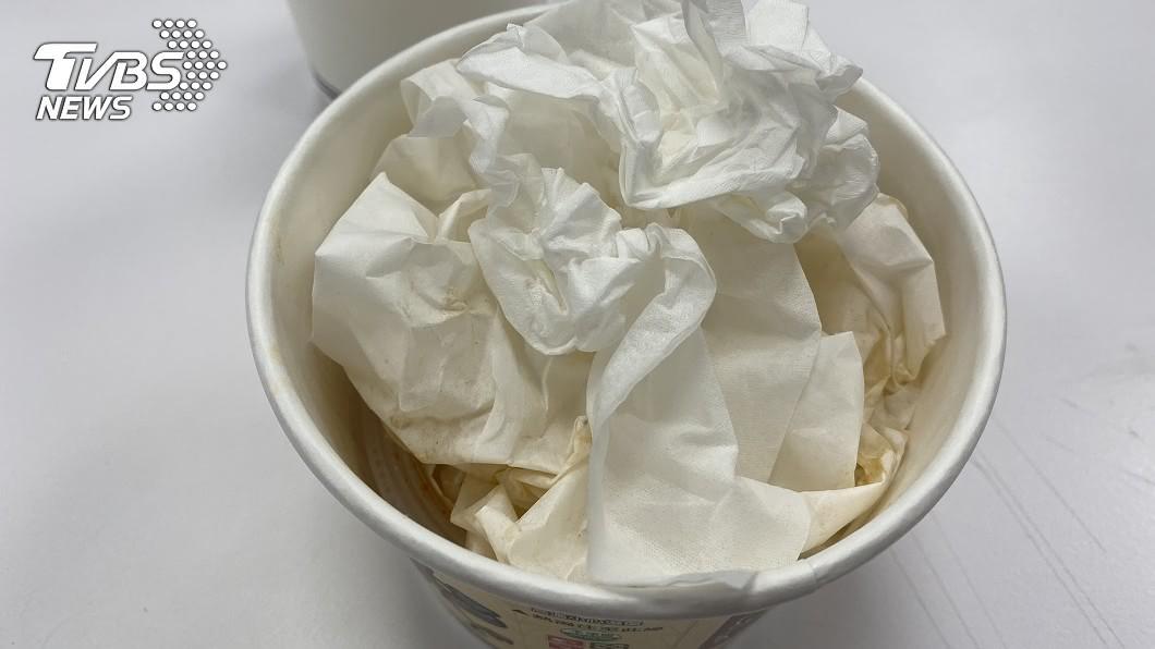 示意圖/TVBS 用過衛生紙丟碗裡比較好收? 餐飲業怒吼:別自以為貼心