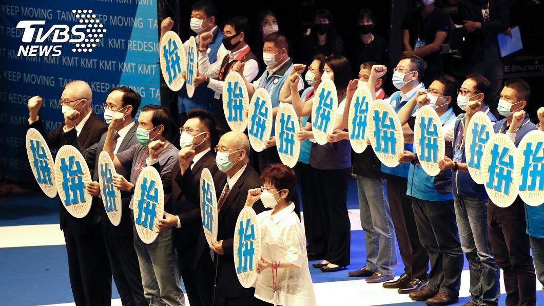 國民黨啟動反萊劑公投連署,籲民眾站出來。(圖/中央社) 反對放寬美豬進口 國民黨正式啟動公投連署