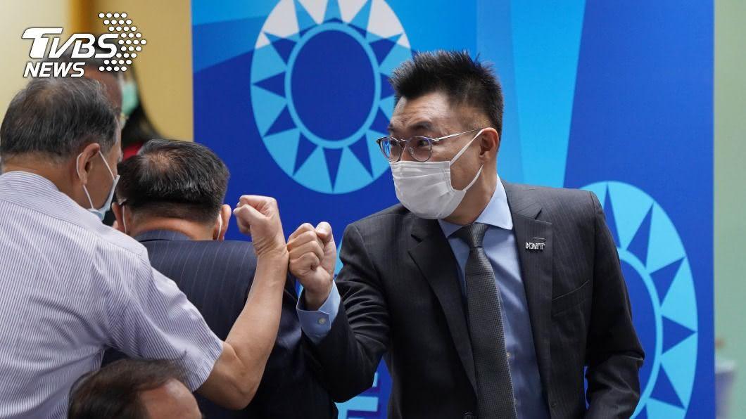 國民黨主席江啟臣。(圖/中央社) 央視稱王金平赴陸「求和」 江啟臣要求公開道歉