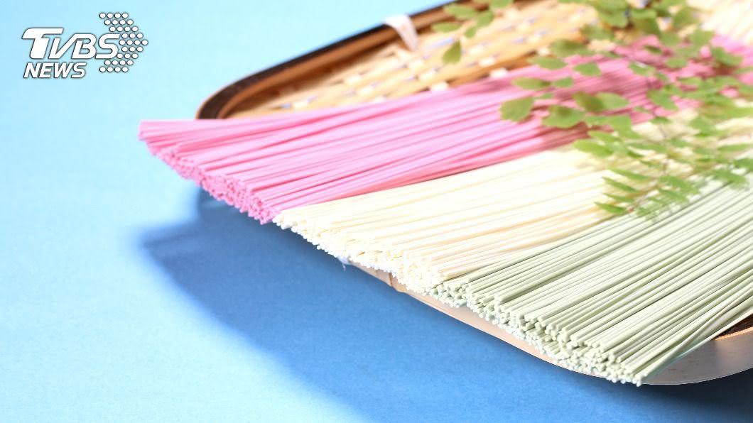 示意圖/TVBS 日本人夏季最愛食物 加料「素麵」色彩繽紛