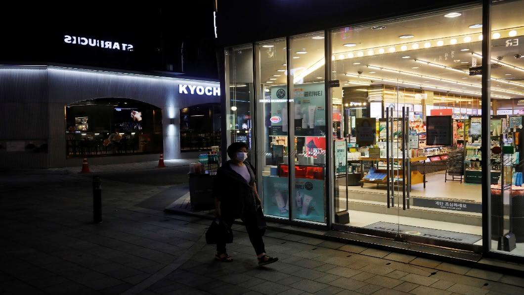圖/達志影像路透 南韓首都圈2.5級防疫「民不聊生」 擬再發補助金