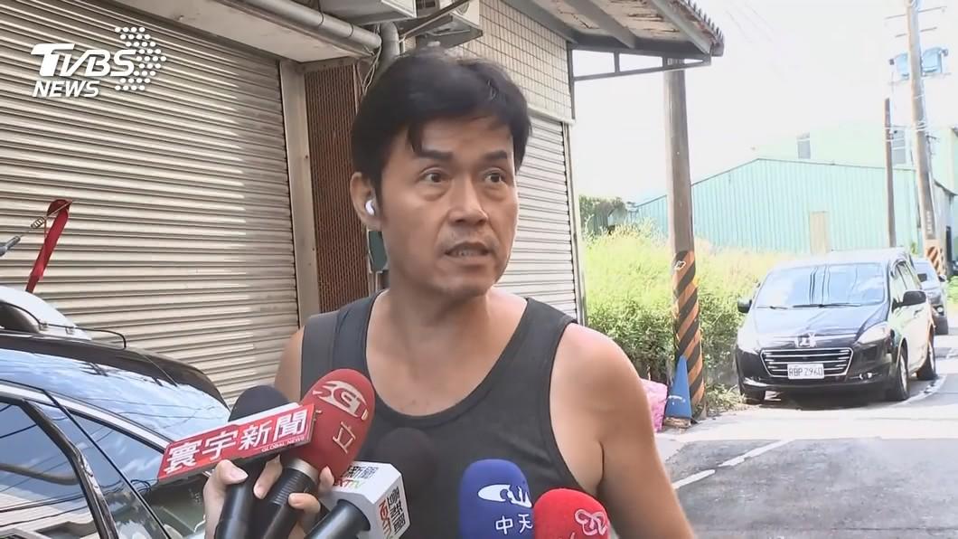 加利負責人林明進。(圖/TVBS) 陸製口罩混入實名制 加利林明進獲利3407萬遭訴