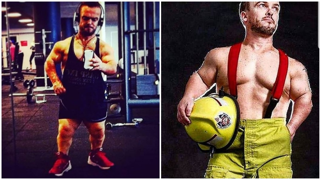 澳洲一名僅127公分的侏儒男,經過努力鍛鍊後搖身成為脫衣舞男。(圖/翻攝自IG) 127公分侏儒鍛練成新寵 正妹競相求歡矮男全拒絕