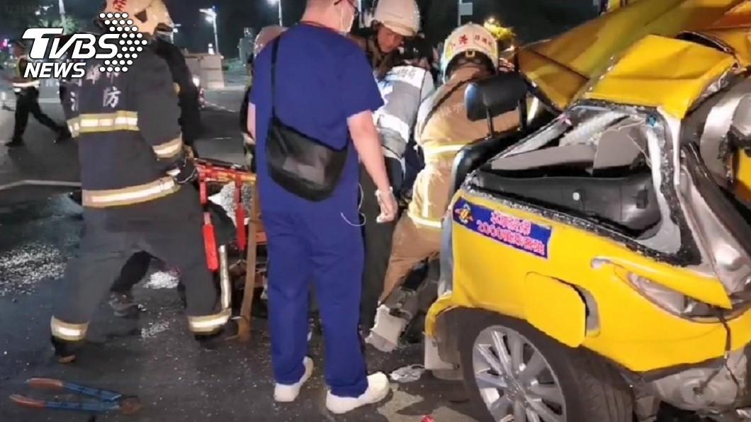 圖/TVBS 為趕去醫院照顧癌母!男肇逃撞死2人…清醒喊:想不起來
