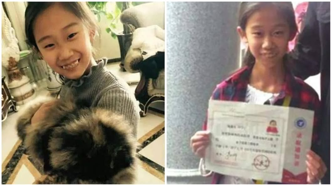 河南一名13歲少女今年從大學畢業,她被外界封為是天才少女。(圖/翻攝自搜狐新聞) 13歲就大學畢業 天才少女怨父母:帶我走上錯的路
