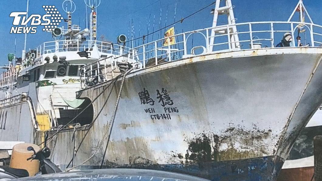 東港籍漁船「穩鵬號」去年2月發生海上喋血案。(圖/中央社,東港區漁會提供) 穩鵬號8死喋血案 菲律賓船員一審判無期徒刑