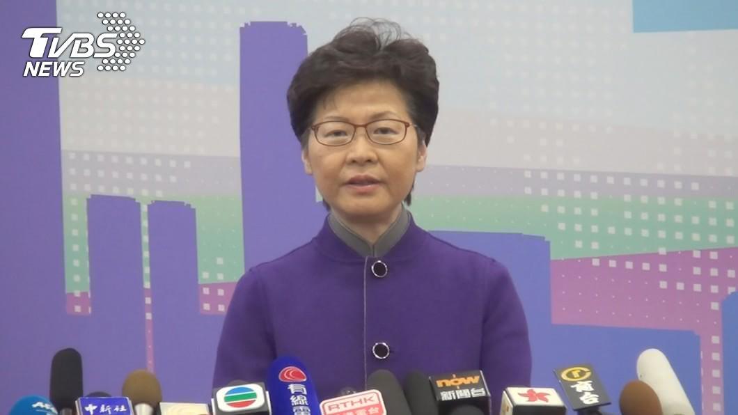 香港民意研究指出,69%受訪者反對特首繼續出任。(圖/中央社) 反對特首出任率達69% 香港最新民意研究出爐