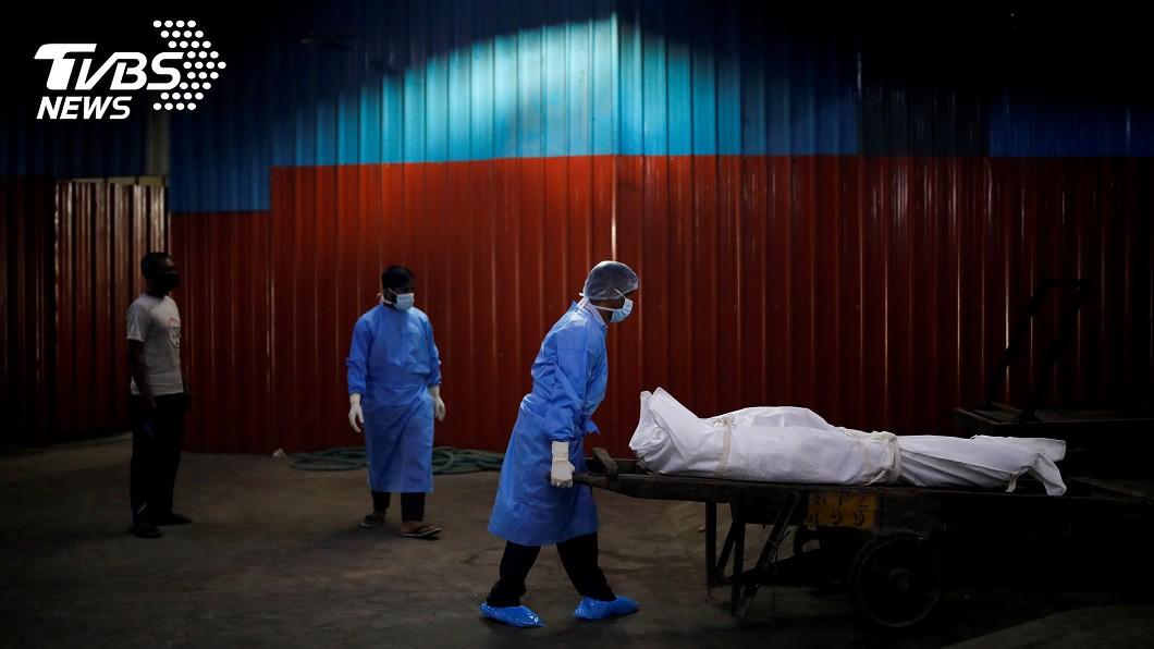 全球新冠肺炎染疫死亡人數已逾90萬人。(圖/達志影像路透社) 全球新肺病故人數破90萬!拉美、加勒比海最多