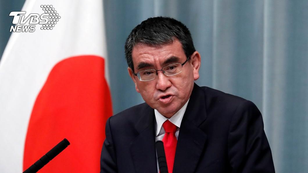 日本防衛大臣河野太郎。(圖/達志影像路透社) 新首相下週上任 日防相:10月可能提早解散眾院