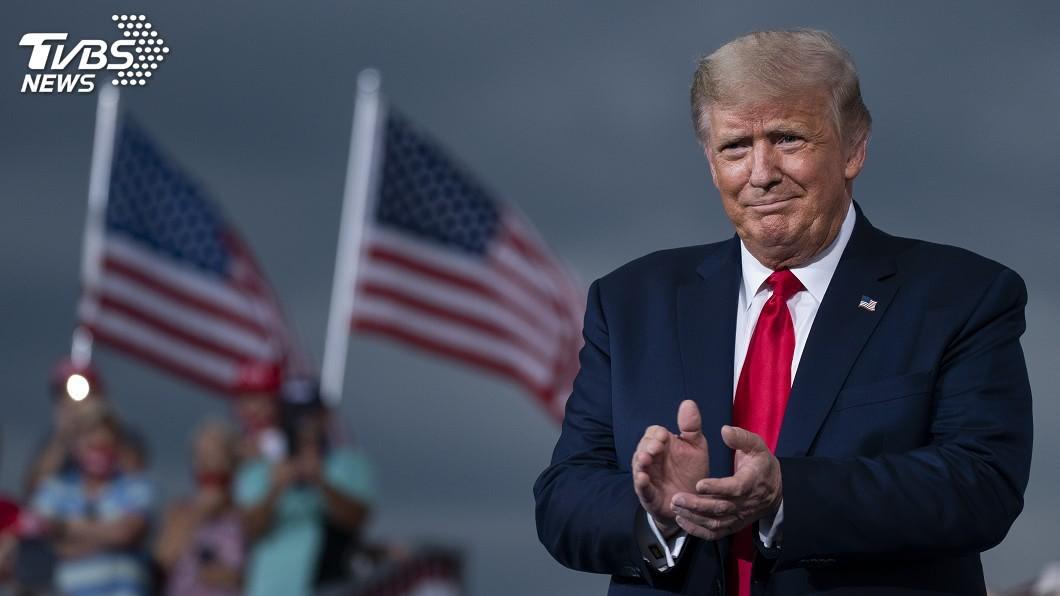 美國總統川普獲提名角逐2021年諾貝爾和平獎。(圖/達志影像美聯社) 獲提名角逐諾貝爾和平獎 川普嗨翻狂發推文慶祝