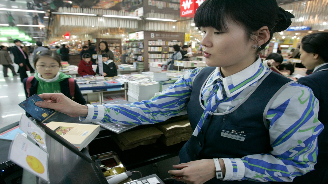 圖/達志影像路透 帶錢好麻煩!硬幣幾乎消失 南韓人「不愛付現」