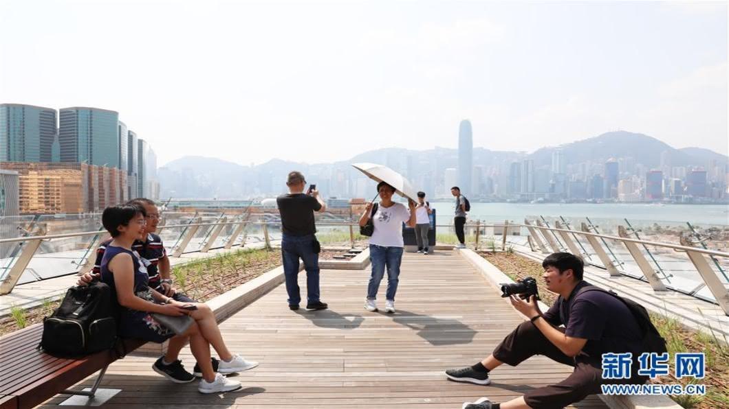 圖/翻攝自 新華網 香港與11國洽談組「旅遊泡泡」入境可免隔離