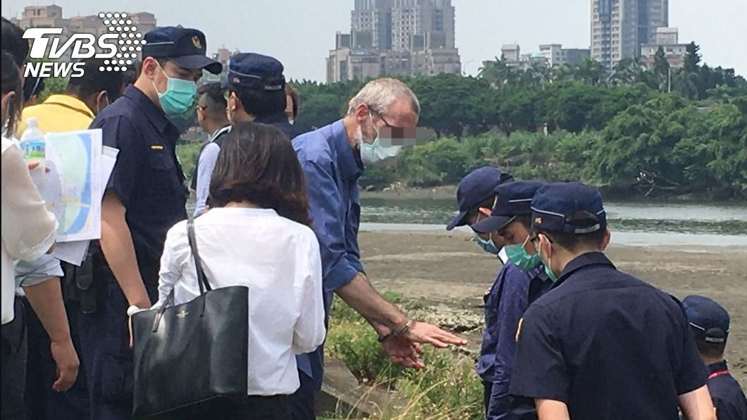 (圖/中央社) 溪畔釣魚目擊永和分屍案 證人疑聽到屍塊落水聲