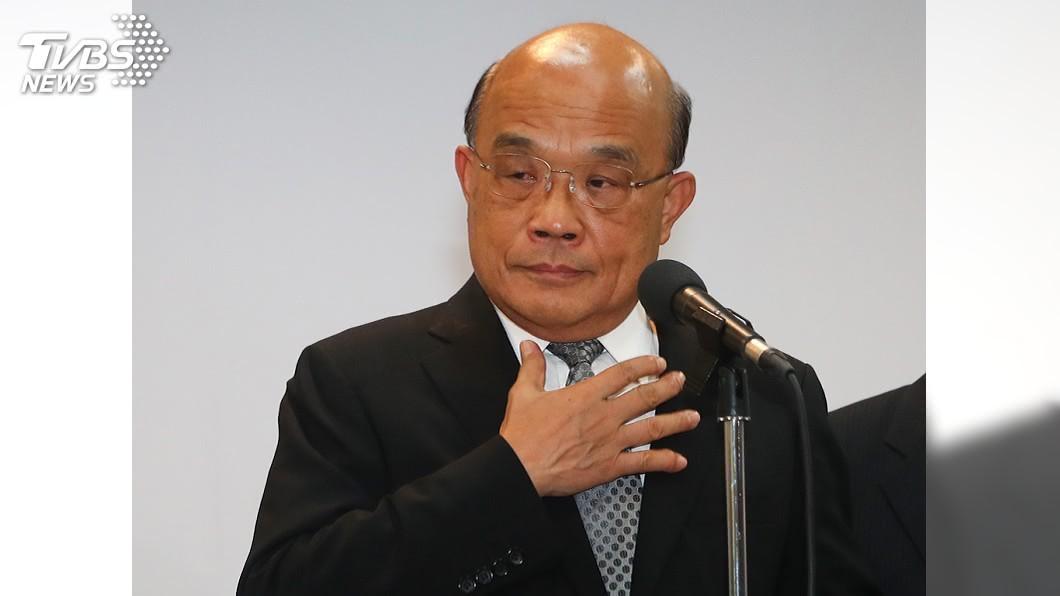 行政院長蘇貞昌。(圖/中央社) 國民黨派團赴論壇被指「求和」 蘇貞昌:非常不值得