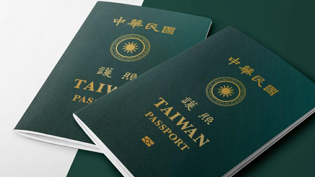 台灣護照封面改版。(圖/中央社,外交部提供) 傳護照改版受大陸施壓 外交部:台人赴東南亞未受阻
