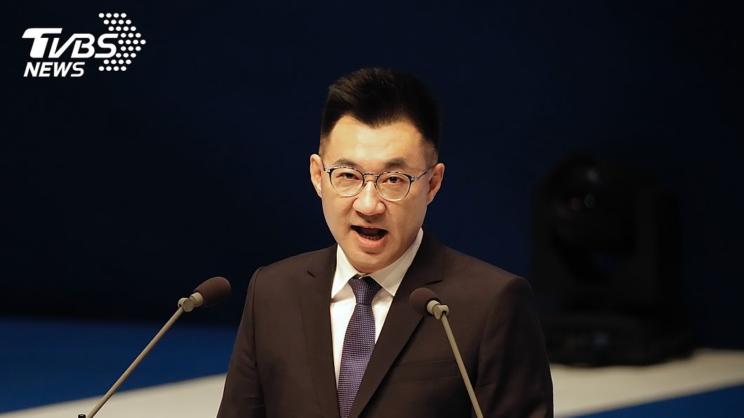 國民黨主席江啟臣表示,海峽論壇參加不是為了參加而參加。(圖/中央社) 王金平赴海峽論壇 江啟臣:為交流不是求和