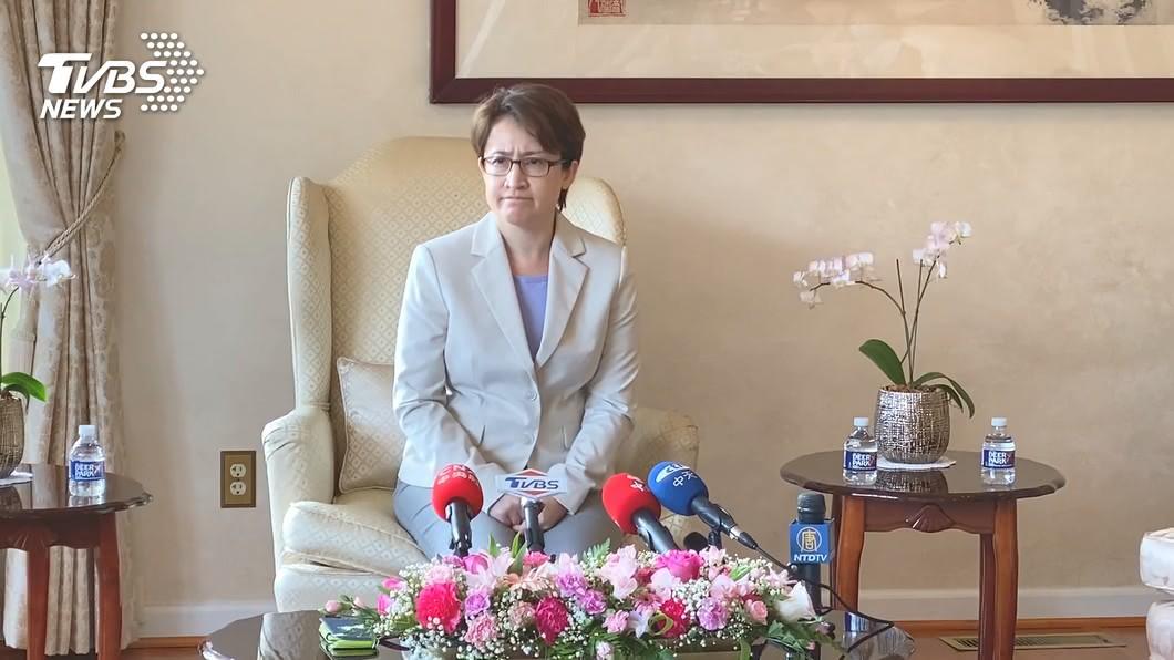 圖/TVBS資料照 蕭美琴自封駐美大使 前外交官批沒意義:別給美製造麻煩