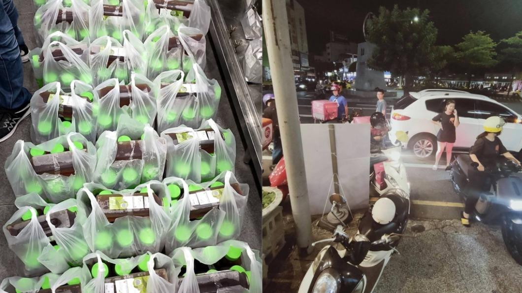 飲料店老闆遭熟客棄單。(圖/翻攝自爆怨公社) 熟客訂「200瓶紅茶」消失棄單 外送群組揪團救老闆