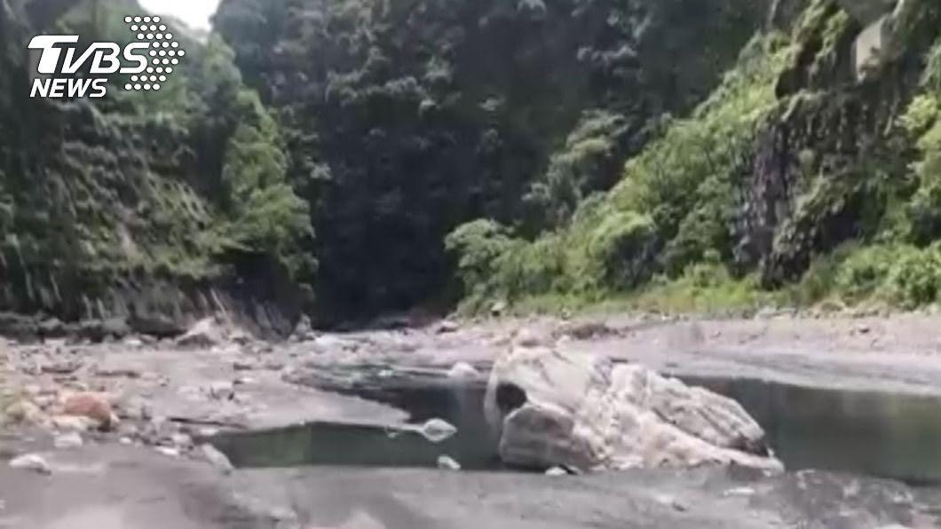 南投武界壩附近為非法露營地。(圖/TVBS) 觀光局曾辦「武界溯溪」 律師質疑:若沖走人也可國賠?