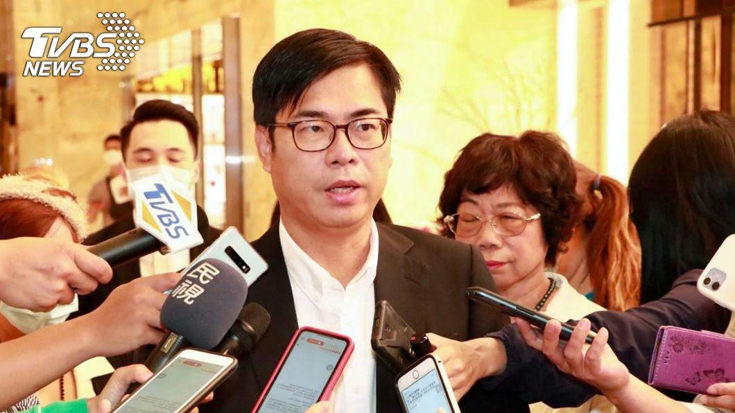 高雄市長陳其邁。(圖/中央社) 傳5偷渡港人遭扣 陳其邁:不便評論證實個案