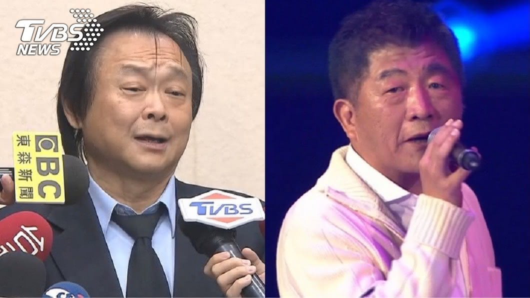 王世堅(圖左)認為陳時中去演唱會上唱歌根本是裝可愛。(圖/TVBS) 轟陳時中開唱根本「裝可愛」!王世堅再嗆一點:撈過界