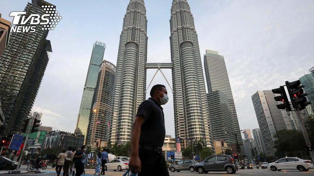 馬來西亞新冠肺炎確診數逼近一萬。(圖/達志影像路透社) 確診逼近萬人大關 馬國不排除恢復行動管制