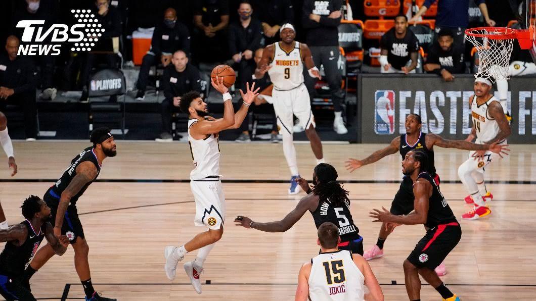 (圖/達志影像美聯社) NBA季後賽連2輪大逆轉創紀錄 金塊闖西區冠軍戰