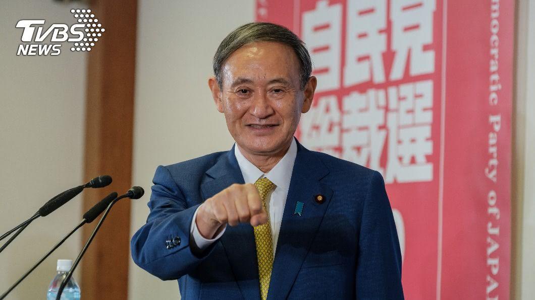 菅義偉為日本第99任首相。(圖/達志影像路透社) 菅義偉任日本新首相 新內閣員名單出爐