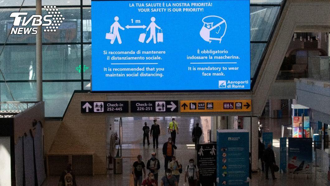 入境採檢流暢有效率 羅馬機場拿下「防疫五星」