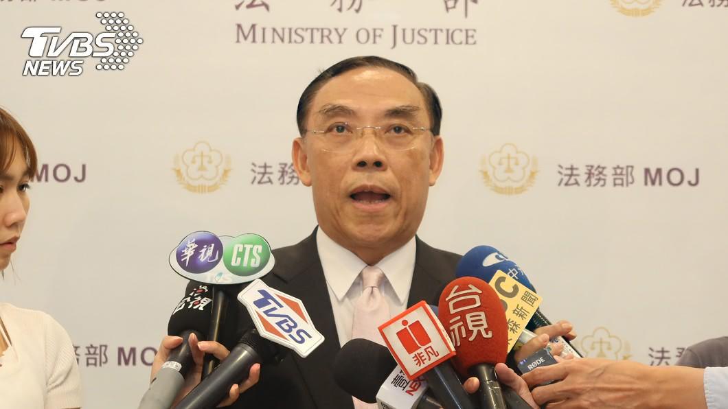 法務部長蔡清祥表示,科技偵查法對象是刑事重罪者非政治偵防。(圖/中央社) 科技偵查法惹議!法務部:僅針對刑事重罪者實施