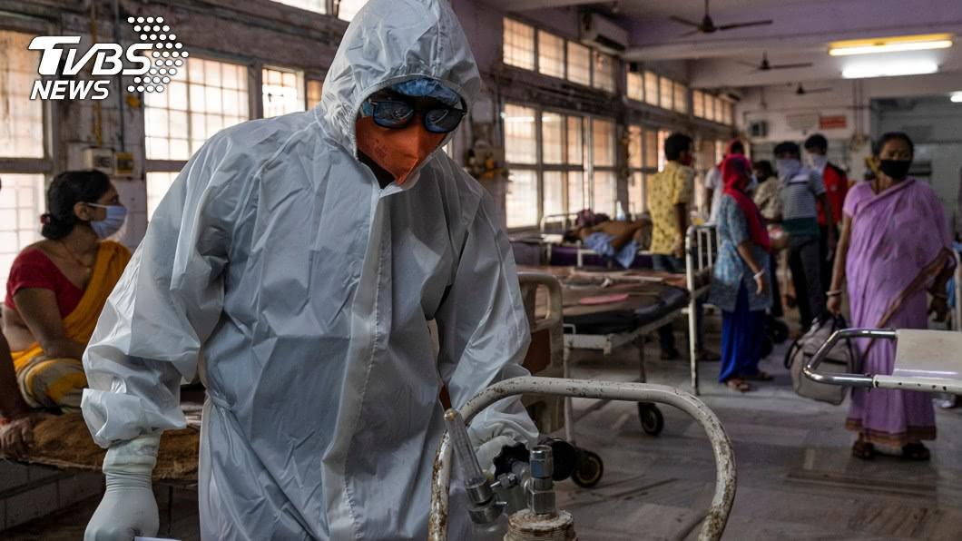 印度染疫數破500萬 重災區氧氣瓶庫存拉警報