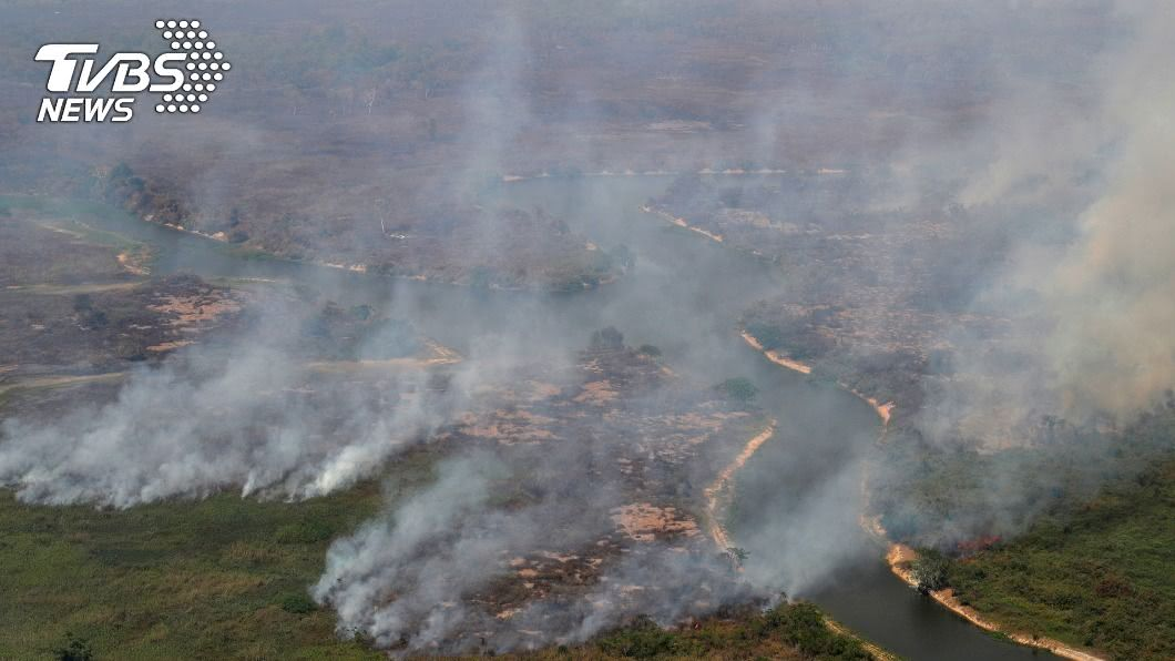 巴西破壞森林問題加劇。(圖/達志影像路透社) 歐洲8國:森林破壞加劇 阻礙購買巴西產品