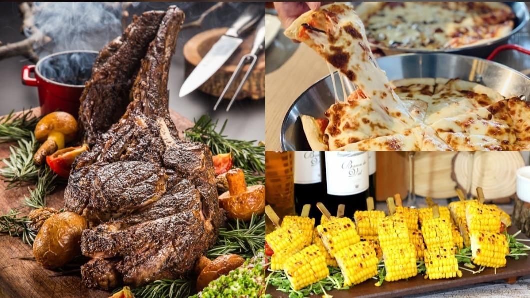 中秋節不想在外烤肉,飯店烤肉吃到飽是一大選擇。(圖/) 大飯店烤肉「吃到飽」!499元起就能爽嗑澎湃牛排