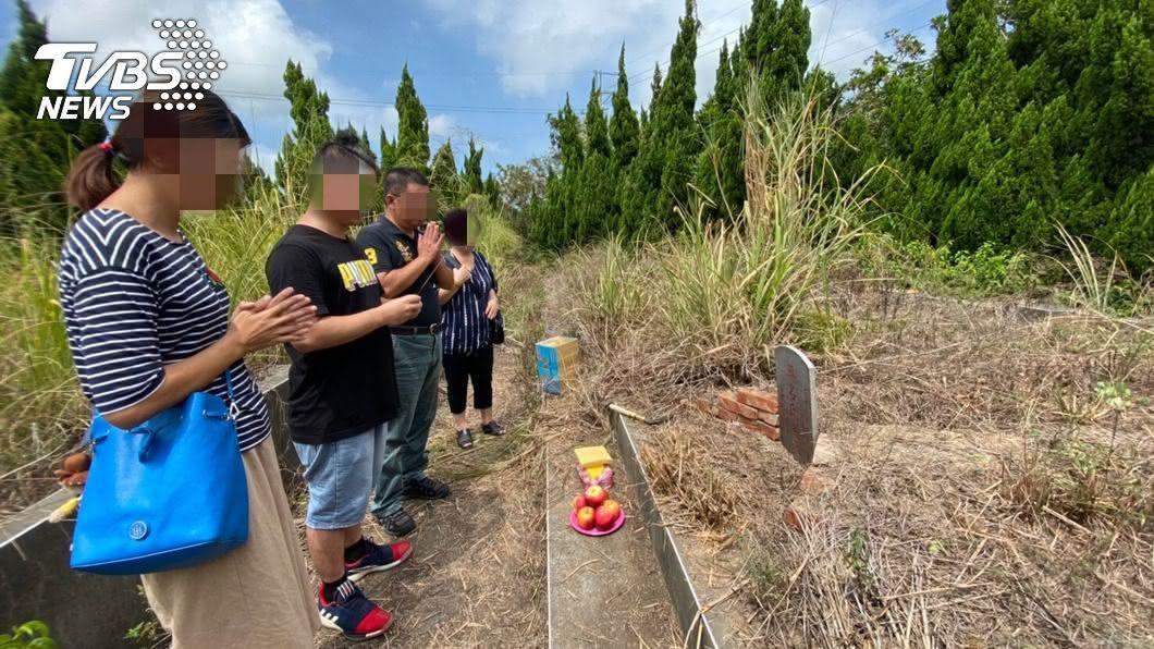 近日發現的無名屍是已失蹤13年的林姓女子。(圖/中央社) 女子失蹤13年家人求神問下落 警助無名屍歸根