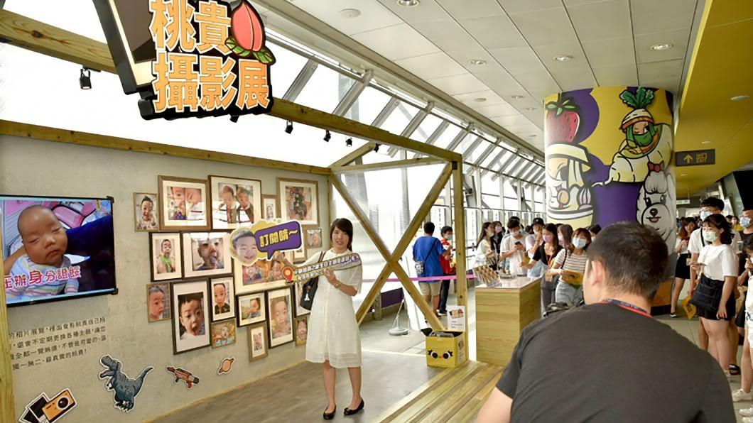 桃園捷運公司與蔡阿嘎合作的展覽案將在9月底圓滿落幕。(圖/中央社) 桃捷、蔡阿嘎合作主題車站案惹議 9月底提前結束