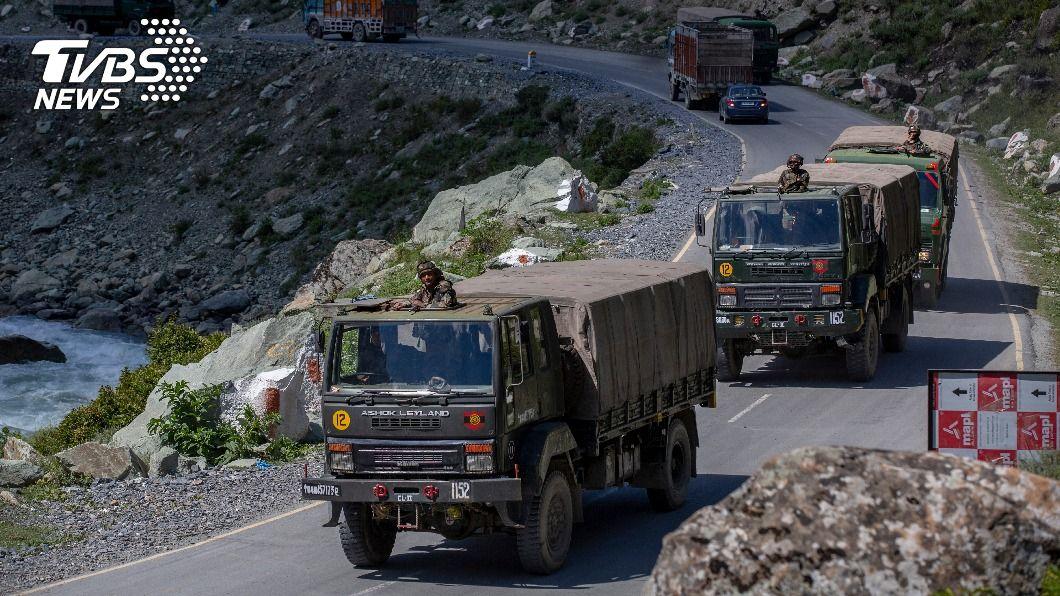 (圖/達志影像美聯社) 中國無意撤軍 印軍開闢補給線準備過冬抗戰