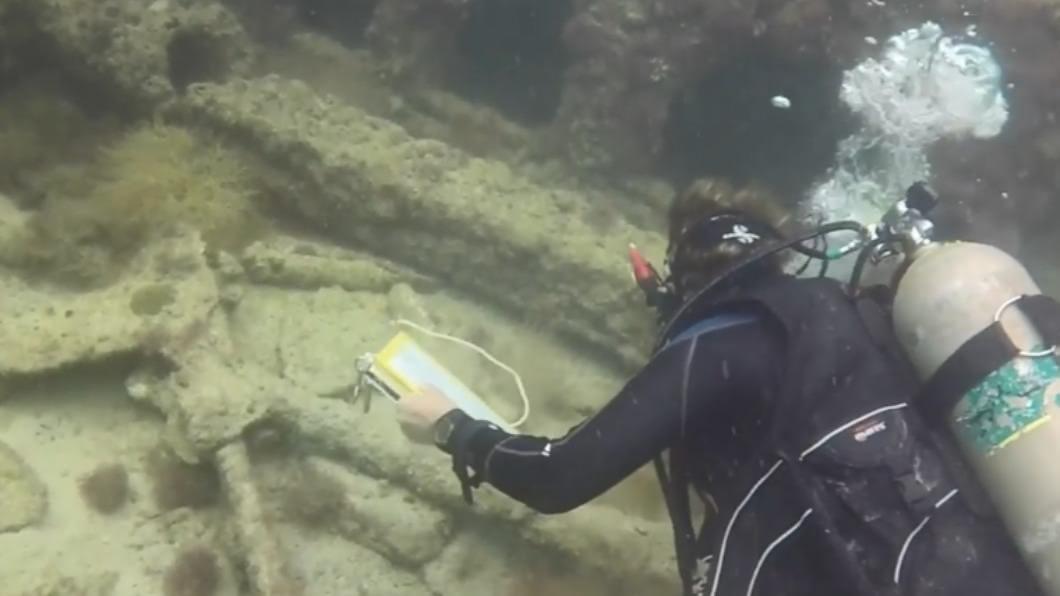 (圖/翻攝自YouTube INAH TV頻道) 躺海底近160年 墨西哥灣發現首艘馬雅奴隸沉船