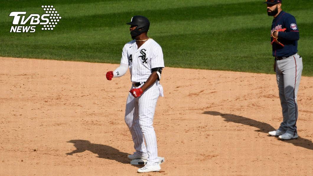 希梅內斯突破比賽僵局帶領白襪闖進季後賽。(圖/達志影像路透社) MLB白襪勝雙城 12年來首度進軍季後賽