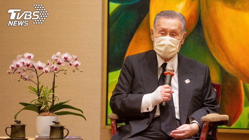 日本前首相森喜朗8月9日曾率團訪台。(圖/中央社資料照) 森喜朗負傷仍赴台追思李登輝 菅義偉託話致意