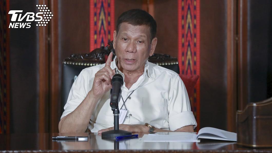 菲律賓總統杜特蒂上任後的掃毒戰飽受人權團體抨擊。(圖/達志影像美聯社) 杜特蒂鐵腕掃毒侵人權!恐遭歐盟制裁取消關稅優惠