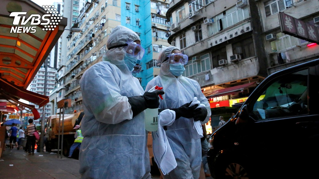香港新冠肺炎確診突破5千例。(圖/達志影像路透社) 香港新冠確診突破5千例!單日增13染疫
