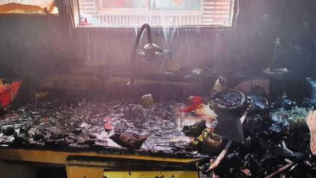 圖/翻攝自仁川彌鄒忽消防署臉書 媽拋兒外出突火災…10歲哥護弟 「肉身擋火」燒成重傷