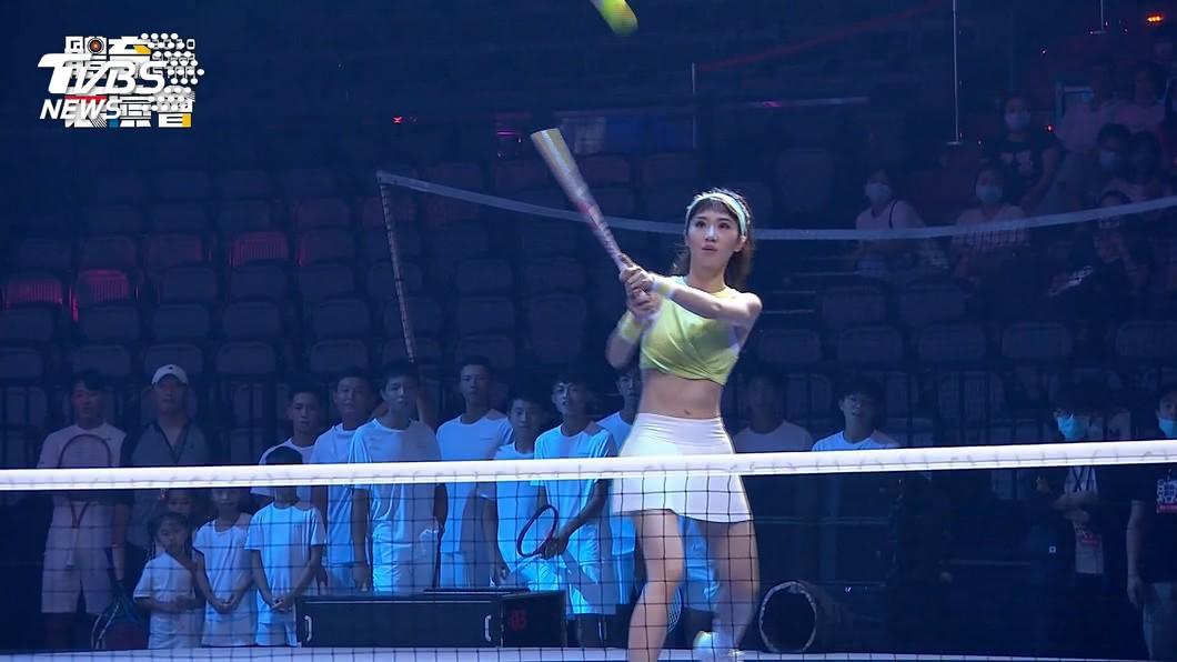 體育表演會結合藝文! LULU「PK網球」吸睛