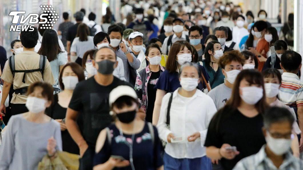 圖/達志影像路透社 日本疫情終於減緩! 四連休再現遊客大軍