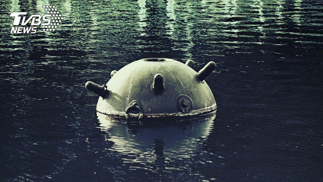 水雷示意圖,非當事新聞畫面。(示意圖/shutterstock達志影像) 疑發現水雷爆裂物 海管處:暫禁鋤頭嶼登島活動
