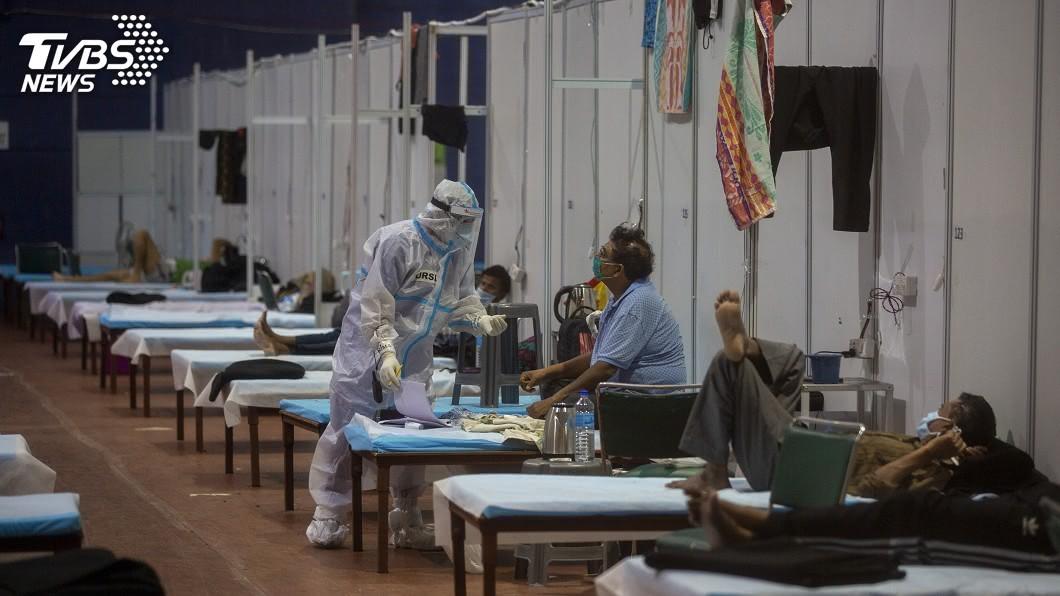 印度疫情發燒。(圖/達志影像美聯社) 印度確診數飆至540萬 新冠肺炎全球最新情報